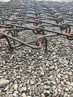 Trailed heavy duty Chain Harrows 9.5 FT WIDE VGC NO VAT