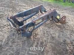 Trima 1510l front loader with massey ferguson 565 tractor brackets, quicke, grays