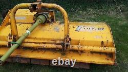 Turnner heavy duty 6ft flail mower new end bearings lovely condition