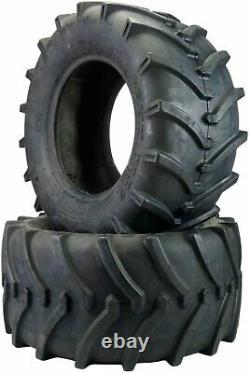 Two 23x10.50-12 Lawn Trac Tires Lug R-1 R1 OTR Heavy Duty 23 1050 12 Tractor