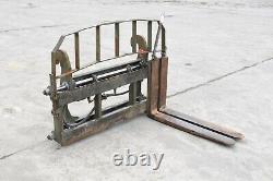 Ulrich Jcb 4cx Heavy Duty Hydraulic Fork Positioner / Side Shifter