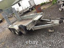 Used 2016 Nugent Heavy Duty Plant P2813S Trailer 9'2 x 4'4, 2700KG