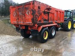 Used dump trailers