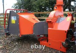 Venom RX125 Tractor Mounted Hydraulic PTO Chipper by Rock Machinery