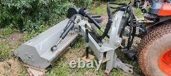 Verge mulching mower Jansen AGF-140