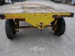 Vintage Heavy Duty/MOD, Four Wheel Drawbar Trailer/Trolley