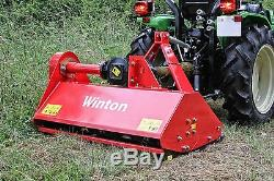 WFL105 Winton Heavy Duty Flail Mower 1.05m Wide For Compact Tractors