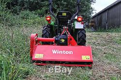 Wfl105 Winton Heavy Duty Flail Mower 1 05m Wide For Compact Tractors