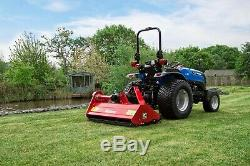 WFL125 Winton Heavy Duty Flail Mower 1.25m Wide For Compact Tractors
