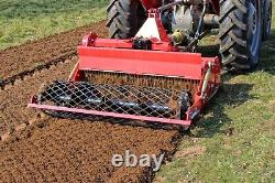 WSB125 Winton Heavy Duty Stone Burier 1.25m Wide For Compact Tractors
