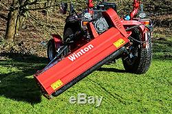 WVF130 Winton Heavy Duty Verge Flail 1.3m Wide For Compact Tractors
