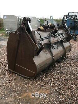 Waste Handler Grab Bucket Loading Shovel Clamp Bucket Heavy Duty Bucket