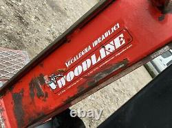 Woodline petrol 10 Tonne hydraulic Adjustable log splitter honda engine