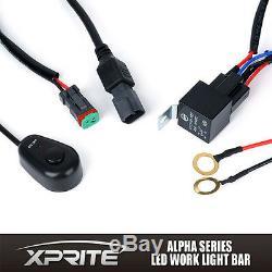Xprite 30 Spot Flood Combo Beam C7 Alpha Series 90W CREE LED Offroad Light Bar