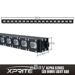Xprite 30 Spot Flood Combo C7 Alpha Series 90W CREE LED HD Light Bar
