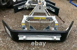 Yard Scraper Galvanised Heavy Duty Rubber Finish Tractor Mounted Price Inc Vat