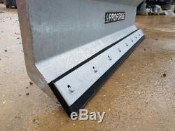 Yard & Snow Scraper Fork Mounted, Heavy Duty 1800mm Wide. Galvanised