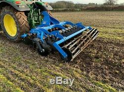 Zagroda 3m Heavy Duty Mounted Disc Harrows Cultivator £5250 + VAT