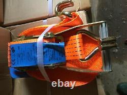 10m Bretelles À Cliquet Lourd X 10