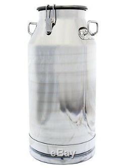 13 Gallon Le Lait Peut, En Acier Inoxydable 50 Qt, Lourds Côtés, Solide, Couvercle Étanche
