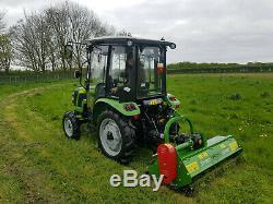 1.05m (3ft4) Marque New Compact Heavy Duty Rotobroyeur Pour Les Tracteurs Compacts