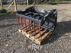 1.2m Heavy Duty Nouveau Tracteur Chargeur Muck Grab Euro 8