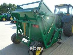 2007 Major Mj2000 Heavy Duty Flail Collector 3 Cubic Meter Hopper Tractor Grass