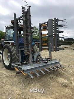 2011 Eb 600 Joskin 4rs Heavy Duty Hydraulique Herbe Pliant Harrow Cultivateur