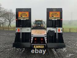2020 Herbst 33t Heavy Duty High Speed Tri Essieu 26ft Low Loader Trailer / Kane