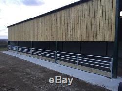 20ft Sheep Alimentation Barrière Porte Hurdle Heavy Duty
