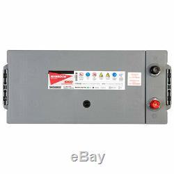2x 629 12v 180ah Heavy Duty Lorry Batteries 1000cca Pour Tractor & Bateaux