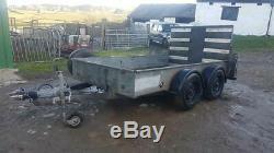 3,5 Tonnes Heavy Duty 10ft X 5.5ft Usine Remorque