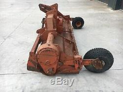 3 Mètres Kuhn Rotovator, Prise De Force Tracteur Powered, Profondeur Roues, Heavy Duty, New Blades