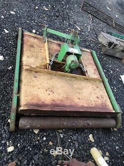 4 Cut Heavy Duty Tracteur Compact Topper Avant Et Arrière Rouleau