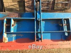 5' Fleming Tracteur Transport Link Box Ttc Benne En Excellent État