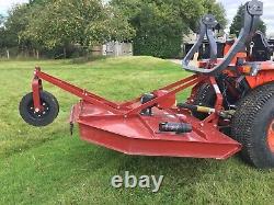 5ft Grass Topper Par Danelander Heavy Duty Pto Slip Clutch Hardly Used