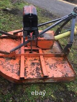 5ft Herbe Topper Jungle Buster Heavy Duty Tractor Monté