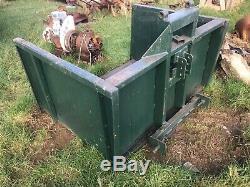 5ft Tracteur Heavy Duty Transport Link Box