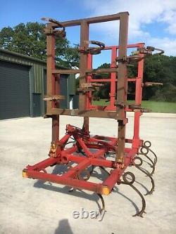 6 Mètres Hydraulique Harrowsgreat Conditiontractor, Cultivateur, Heavy Duty, Arable