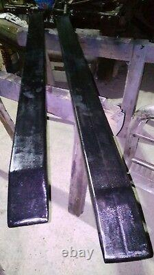 6 Pieds De Palette Lourde Fork Extension Tines. (manitou, Jcb, Sanderson, Merlo)