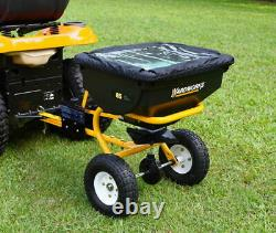 85 Lb De Remorquage Derrière La Diffusion Fertilisant Atv Garden Tractor Seed Durable