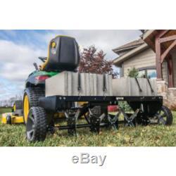 Aérateur De Base Plug-aérateur Beton Tracteur Tondeuse Heavy Duty Francehotel