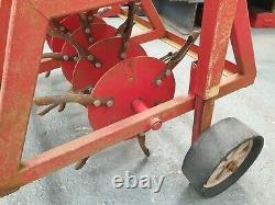 Aérateur De Bouchon De Pelouse Remorqué Très Lourd/tracteur Hollow Tine / Vtt / Quad