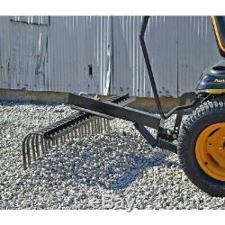 Agri-fab Râteau À Roche Pour Tracteur 48 Tondeuse Box Scraper Heavy Duty