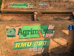 Agrimaster 3m Tracteur Rotobroyeur Heavy Duty Topper