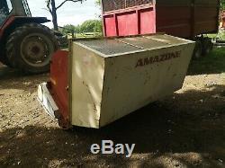 Amazone Groundskeeper Fléau Collector / Faucheuse 1.8m Large Pour Tracteurs Compacts