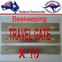 Apicoles Porte Voyage Et Souris Garde Bee Hive Équipement X 10 Time Saver