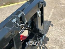 Arkmet Heavy Duty Bale Squeezer Grab Tine Et Rouleau £ 795 + Tva