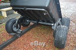Atv Heavy Duty Tipping Remorque 1500lb Capacité De Charge £ 699.99 + Frais Inc Vat Ebay
