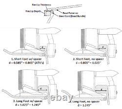 Beadbuster Xb-550 Heavy Duty Tire Bead Breaker Bb5 Tracteur Utv Truck 4x4 Remorque